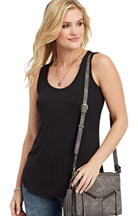 a88e2150ffe maurices Women s 24 7 Basic Scoop Neck Tank at Amazon Women s Clothing store