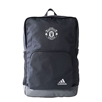 adidas Manchester United Backpack Rucksack Grau