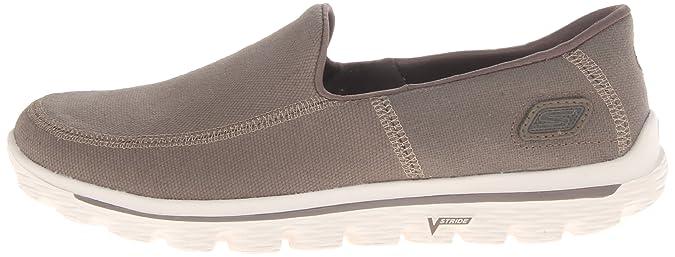 Skechers Go Walk 2-Maine - Zapatillas de Soft Tennis de Lona ...