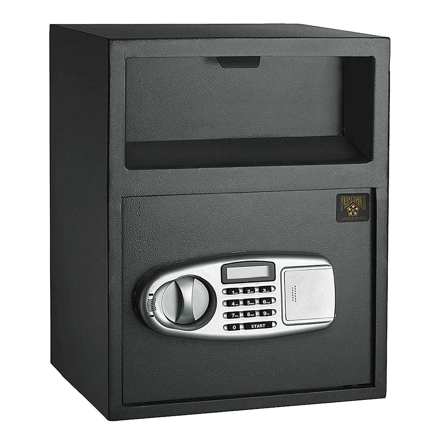Image of 7925 Paragon Lock & Safe Digital Depository Front Load Cash Vault Drop Safe Box Home Improvements