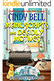 Manuscripts and Deadly Motives (Dune House Cozy Mystery Series Book 15)