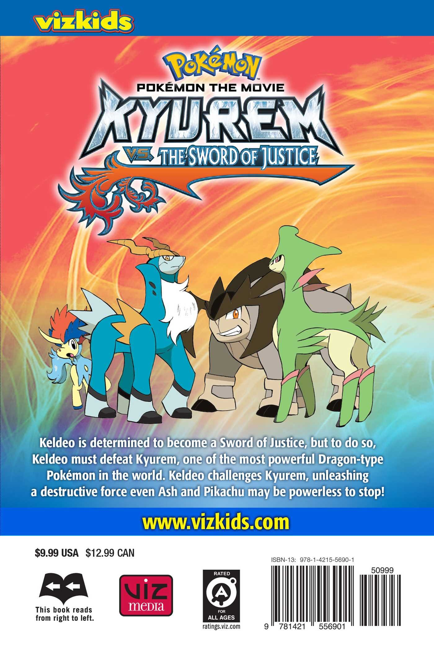 Buy Pokemon The Movie Kyurem Vs The Sword Of Justice Pokemon