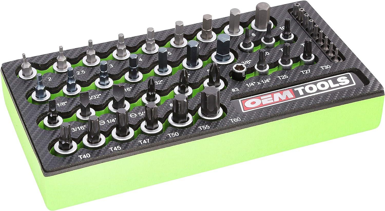 OEMTOOLS 23992 Multi-Drive Star Socket Set (44 Piece)