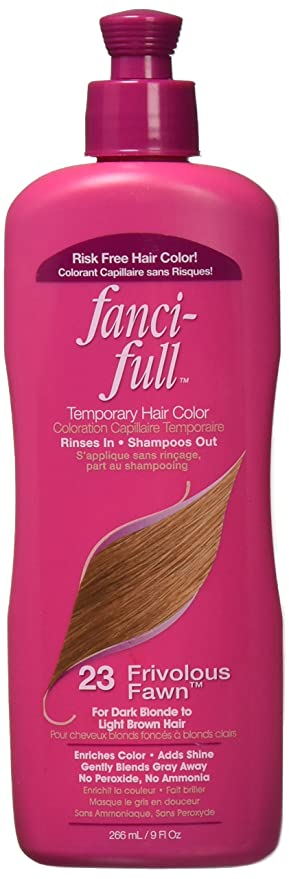Fanci Full Temporary Hair Color 23 Frivolous Fawn 9 Oz Amazon