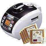 玄米圧力炊飯器 酵素玄米Pro2 非IH式 4合 かんたん酵素玄米3合(5個セット)付