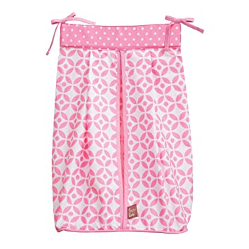 Amazon Trend Lab Diaper Stacker Pink Lily Baby