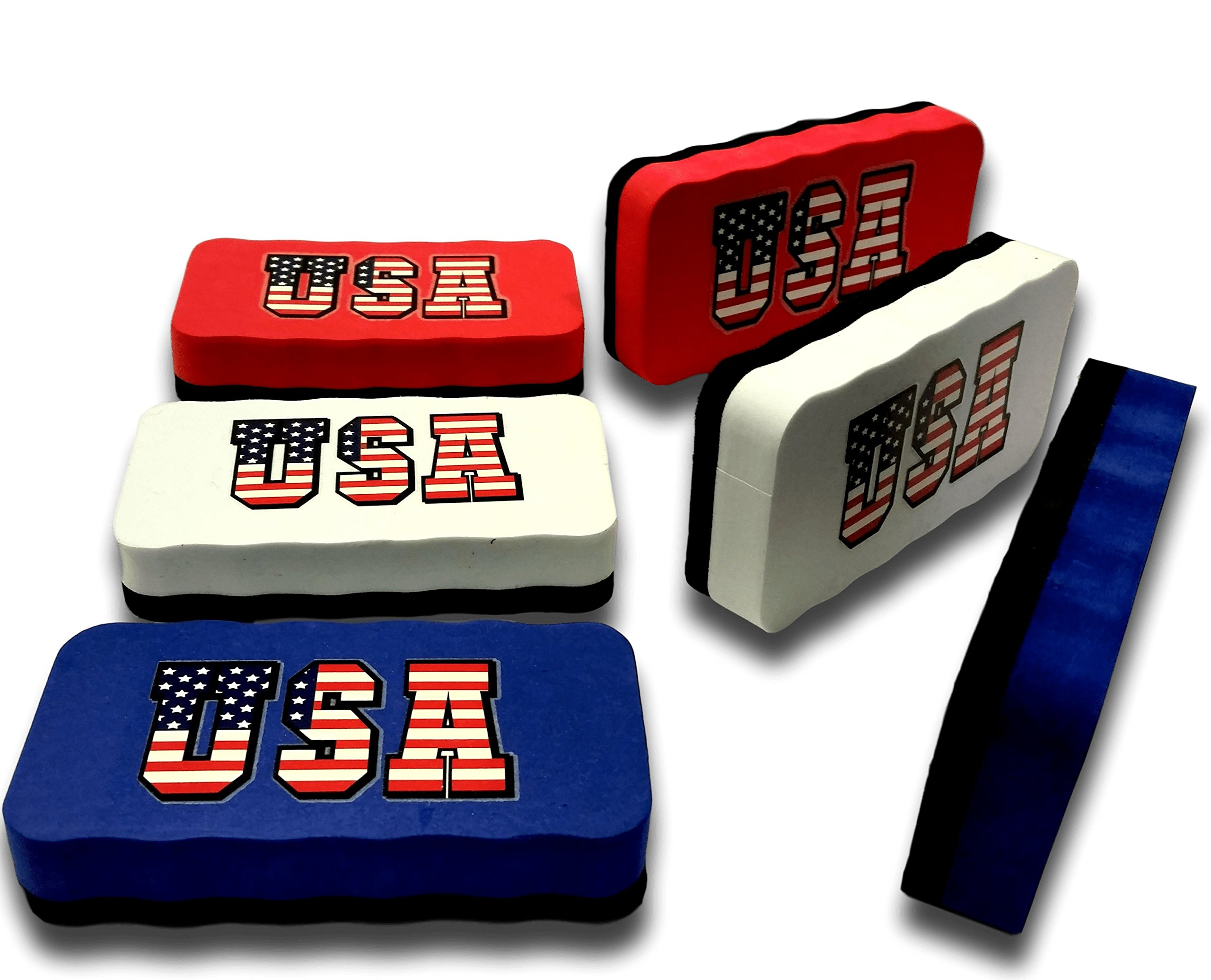 USA Dry Erase Erasers | Magnetic Whiteboard Eraser - for Home - Office - School - Classroom - Teacher