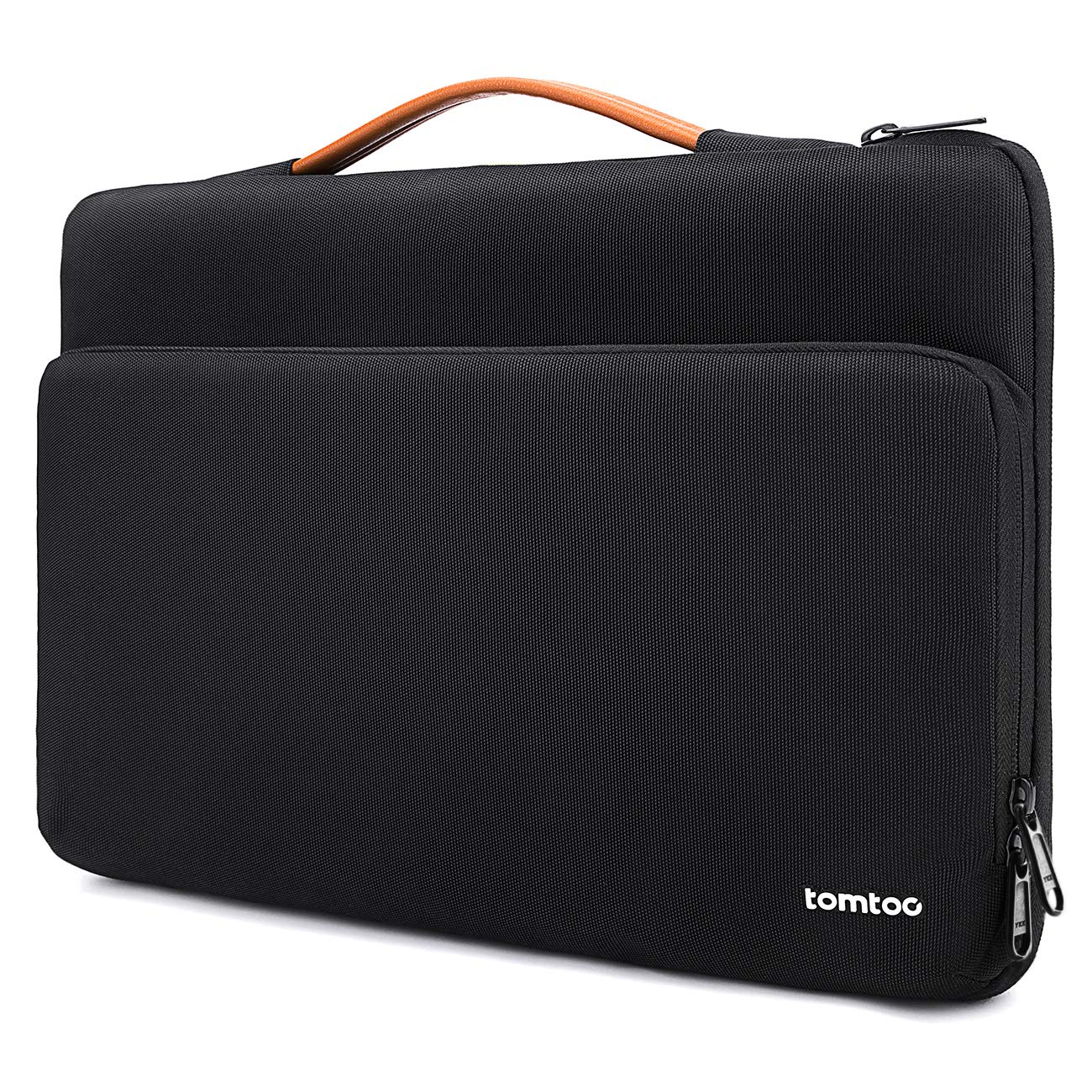 tomtoc Protective 13-13.5 inch Laptop Sleeve Notebook Handle Bag Compatible with 13.3'' MacBook Air | 13'' MacBook Pro Retina 2012-2015 | 13.5'' Surface Book | Surface Laptop, with Accessory Pocket