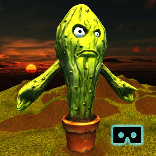 Cactus Zombies - VR/AR (Zombie Headset)