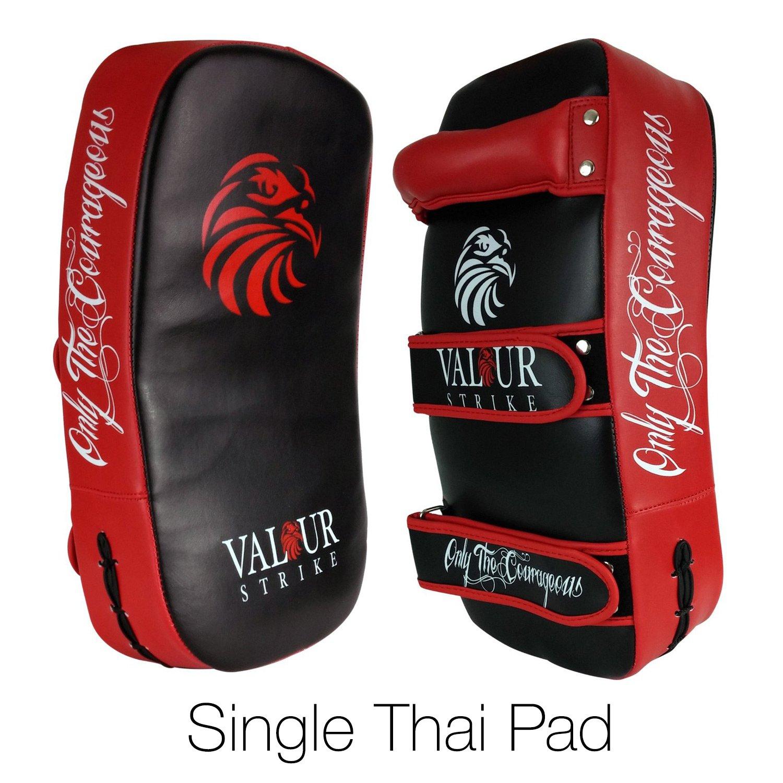 Valour Strike Schlagpolster/Pratze/Thai-Kick-Pad, gebogen Valour Strike® VS-THAI-KICK-PADS