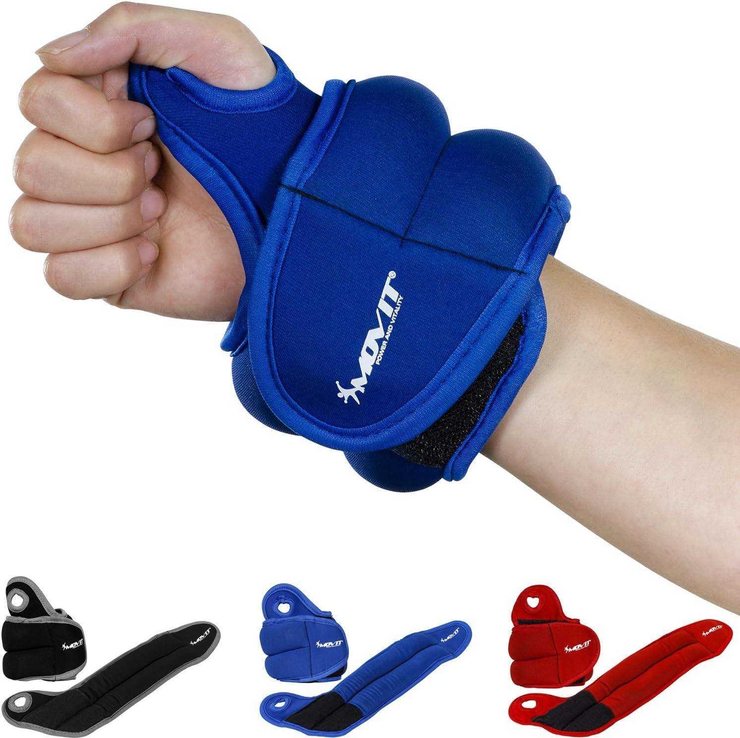 Bewegung XN8 Gewichtsmanschetten Verstellbares Neopren Fu/ßgelenkgewichte|0.5kg-3kg Armgewichte Handgelenkgewichte f/ür Fitness Gymnastik Laufen Joggen