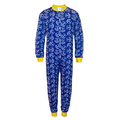 85a1f497 Everton FC Official Football Gift Boys Kids Pyjama All-in-One: Amazon.co.uk:  Clothing