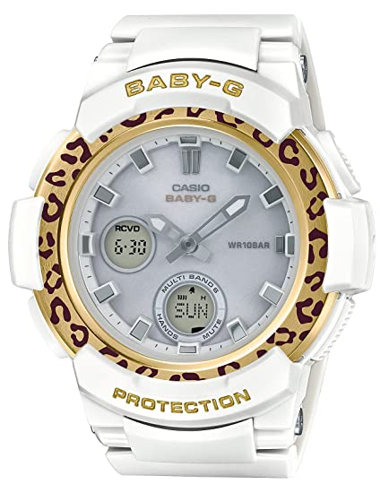 Amazon.com: CASIO watch BABY-G Bebiji leopard pattern Solar radio BGA-2100LP-7AJF Ladies(Japan Domestic genuine products): Watches