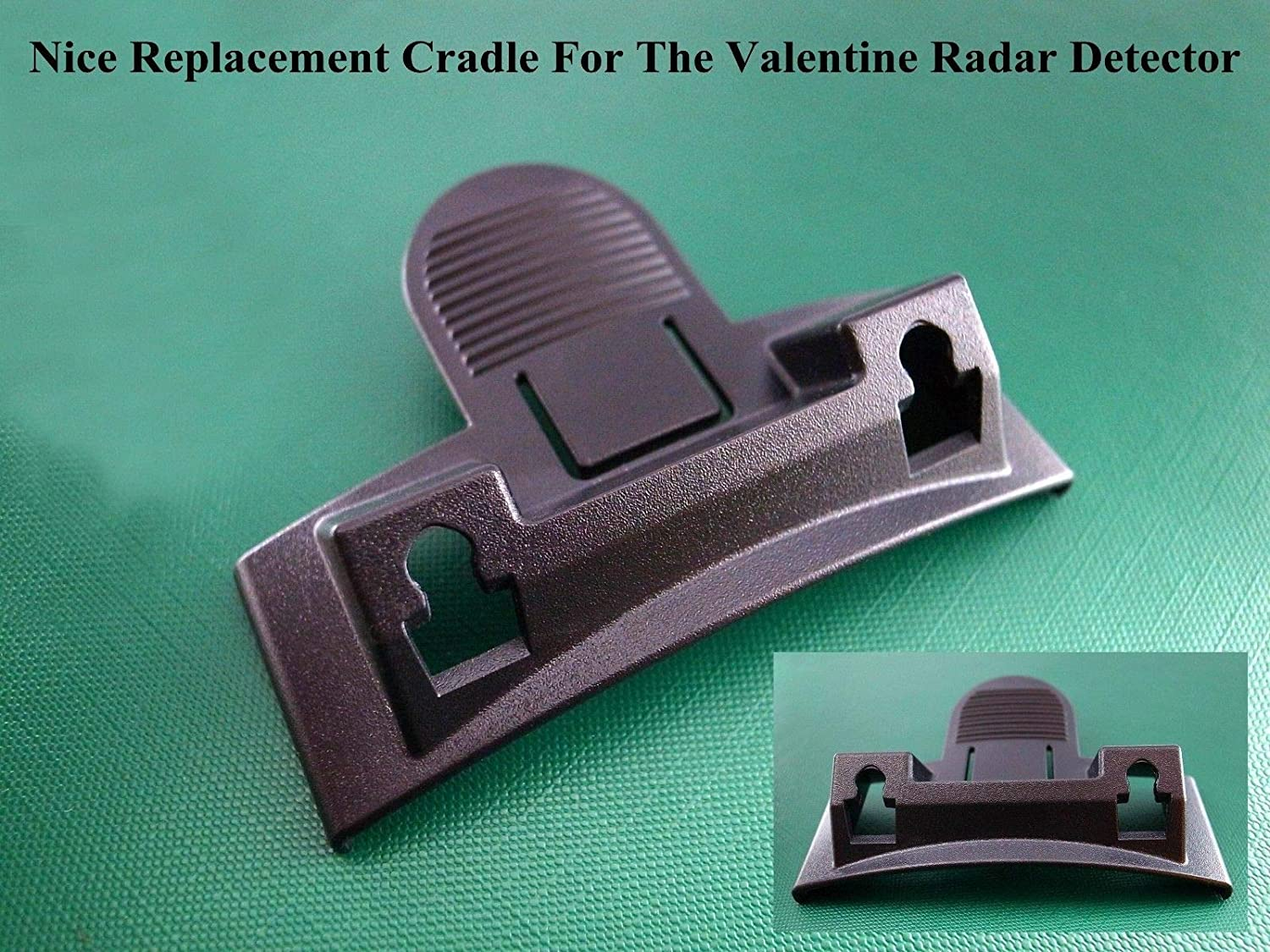VSCL Plastic Replacement Cradle Mount for Valentine V1 Radar Detectors Radargun