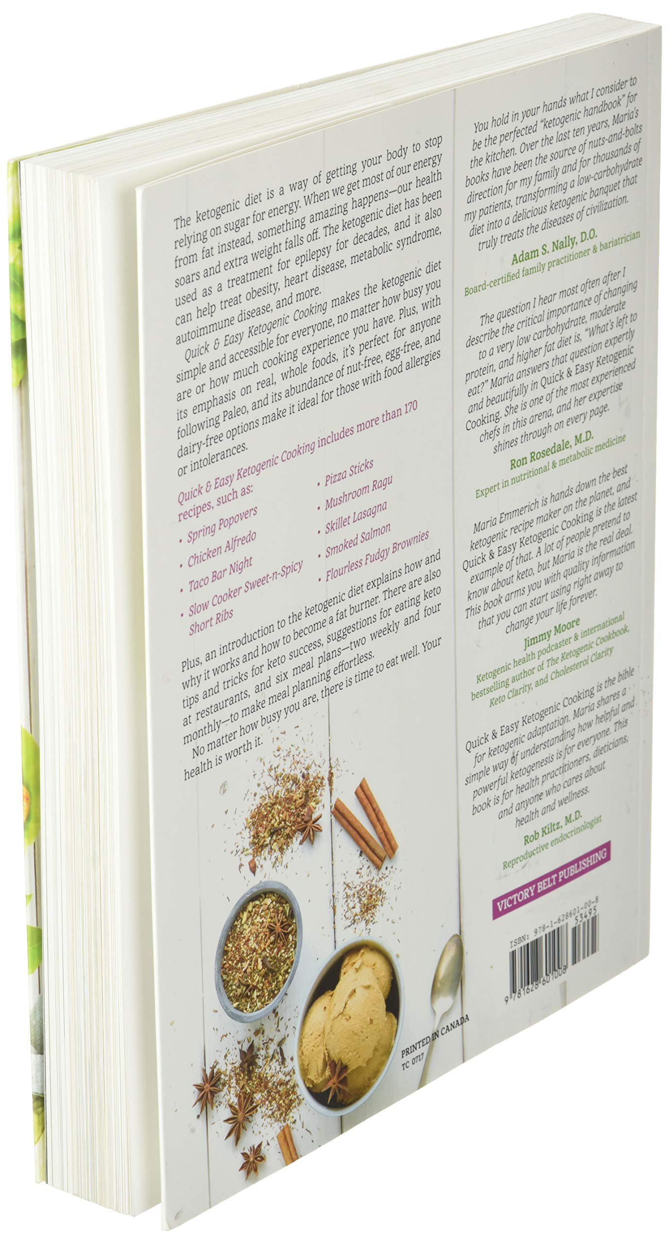 Quick & Easy Ketogenic Cooking: Meal Plans and Time Saving ...