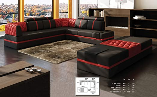 Amazon.com: Causal Contemporary Modern Living Room Furniture ...