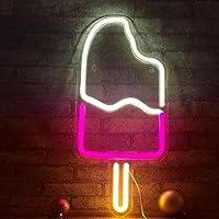 Popsicle Neon Light LED Crème Glacée Lumières Art