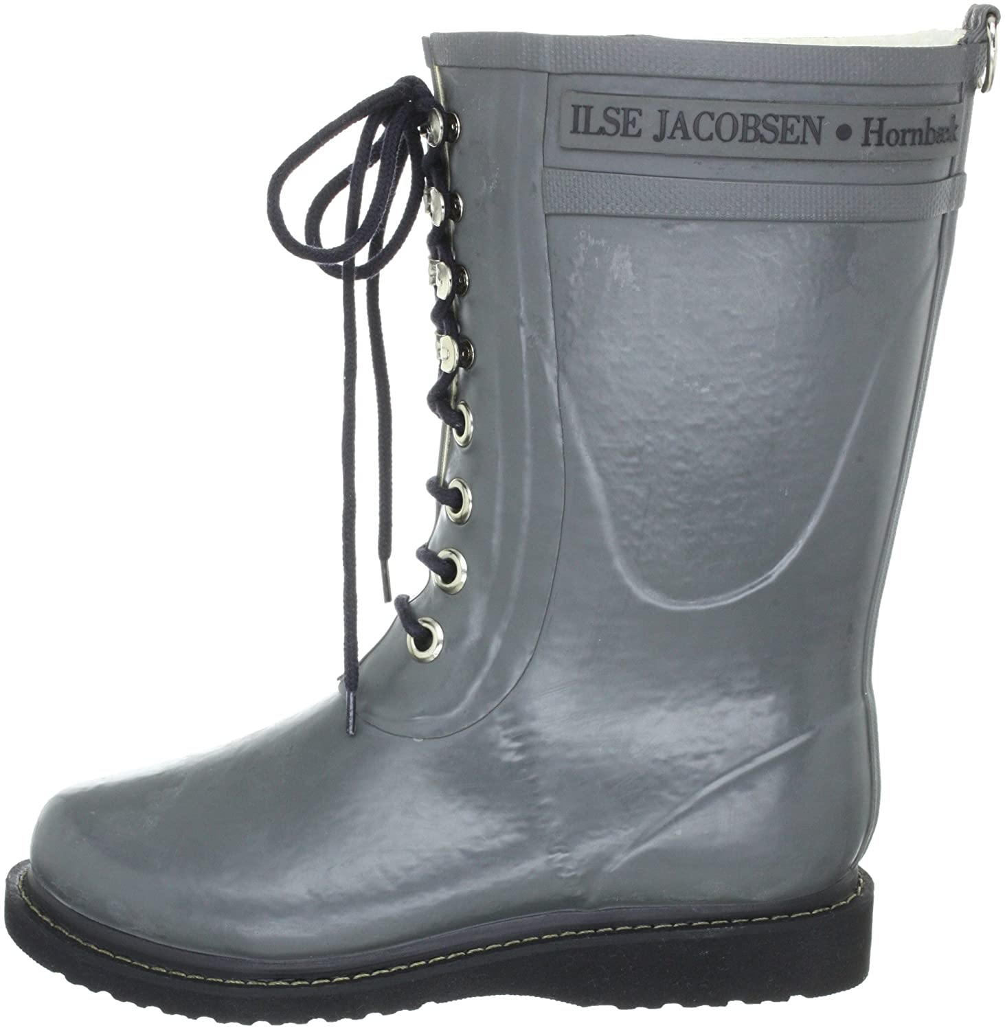 ILSE JACOBSEN Women's Rub 15 Rain 40 Boot B006B0FY18 40 Rain EU/10 M US|Grey d9fea7