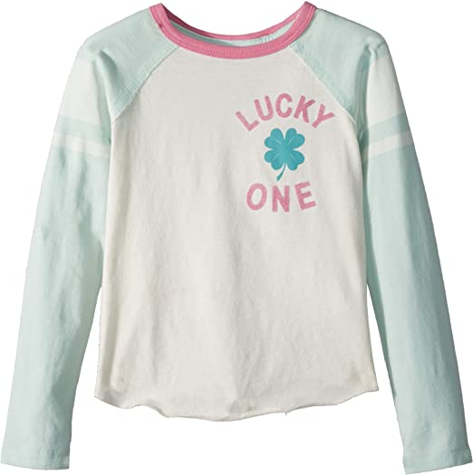 2c4d1eea5 Amazon.com: Peek… Baby Girl's Lucky One Tee (Toddler/Little Kids/Big ...