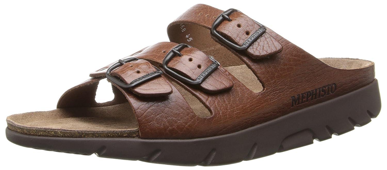 Leather Grain Men's Tan Sandal Zach Full Mephisto vg7yYbf6