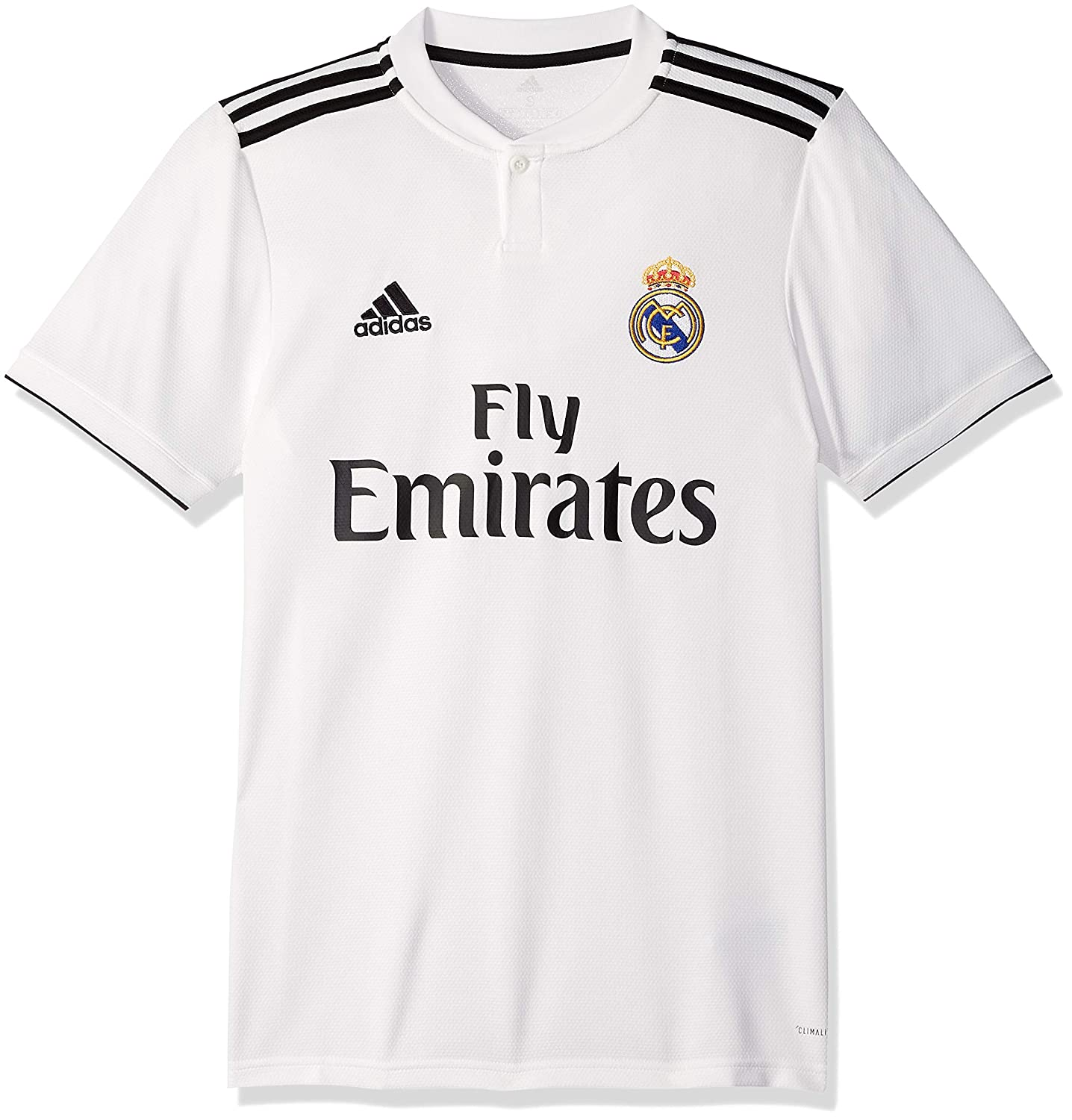b9a35b86f Amazon.com   adidas Mens Real Madrid Home Soccer Jersey (White)   Sports    Outdoors