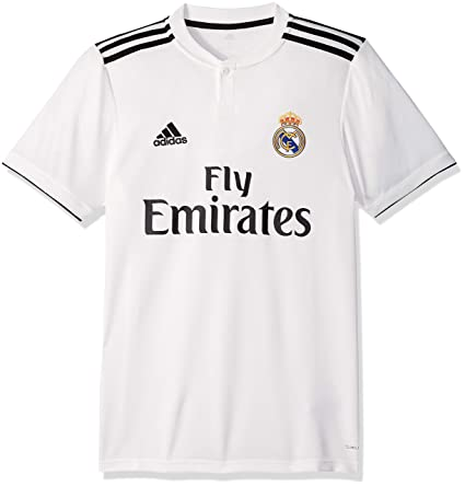 aaf67c05b Amazon.com   adidas Mens Real Madrid Home Soccer Jersey (White ...