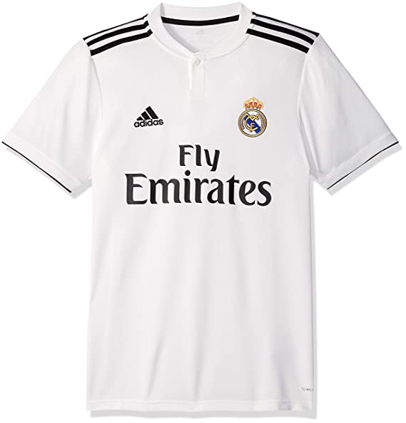 reputable site 12d91 99193 adidas Soccer Real Madrid Home Jersey