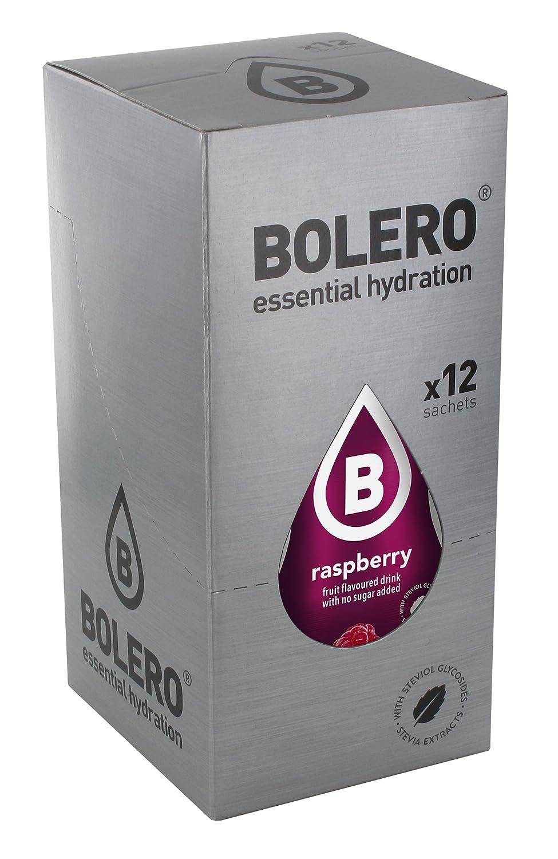 Bolero Classic Raspberry - Paquete de 12 x 9 gr - Total: 108 gr