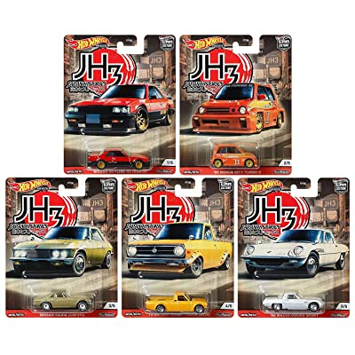 Hot Wheels Premium 2020 Car Culture Japan Historics 3 - Set of 5: Toys & Games
