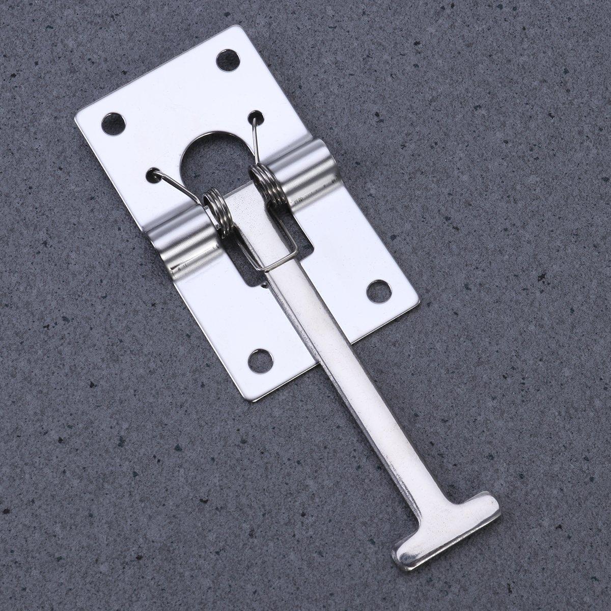 304 Stainless Steel WINOMO RV Trailer Door Holder T-Style Entry Door Catch Holder for RV Camper Trailer