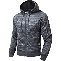 AIRAVATA Hombres Suéter Completo Zip Pull-Over Casual Clásica