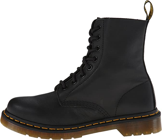 dba9113067 Dr. Martens Women's Pascal Leather,Black Virginia,3 UK/5 M US: Dr ...
