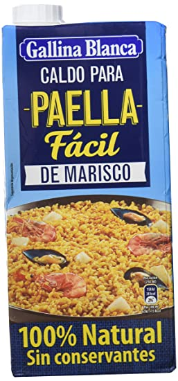 Gallina Blanca Caldo Paella - 1000 ml - [pack de 2]