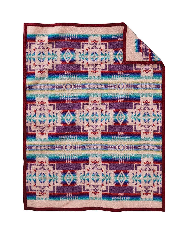 Pendleton Chief Joseph Crib Blanket White