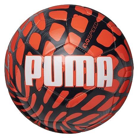 PUMA EVO Speed 5.4 Frame - Balón de fútbol, Talla 3: Amazon.es ...