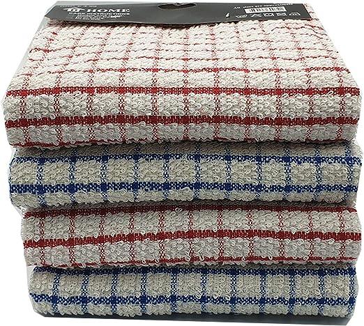 Vision Textiles - Paños de Cocina de Rizo 100% algodón Suave al ...
