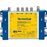 TechniSat TECHNISWITCH 5/8 G2, Multischalter / Verteiler für bis zu 8 Teilnehmer, 100m Entfernung überbrückbar, inkl. Netzteil