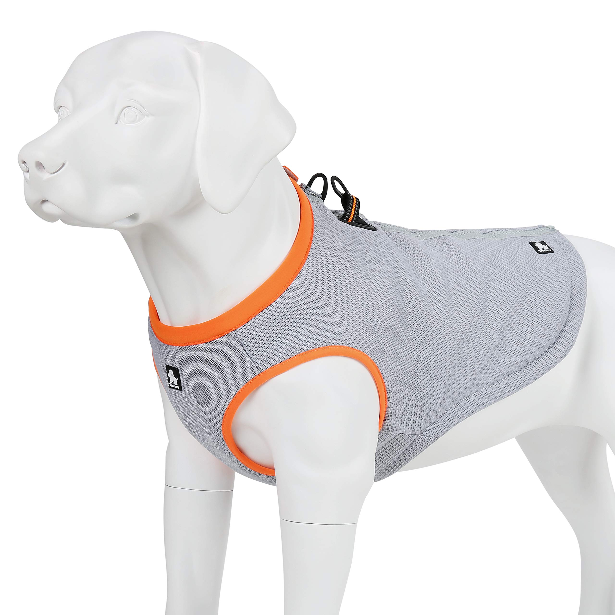juxzh Truelove Dog Cooling Vest Harness Cooler Jacket with Adjustable Zipper for Outdoor Hunting Training and Camping by juxzh