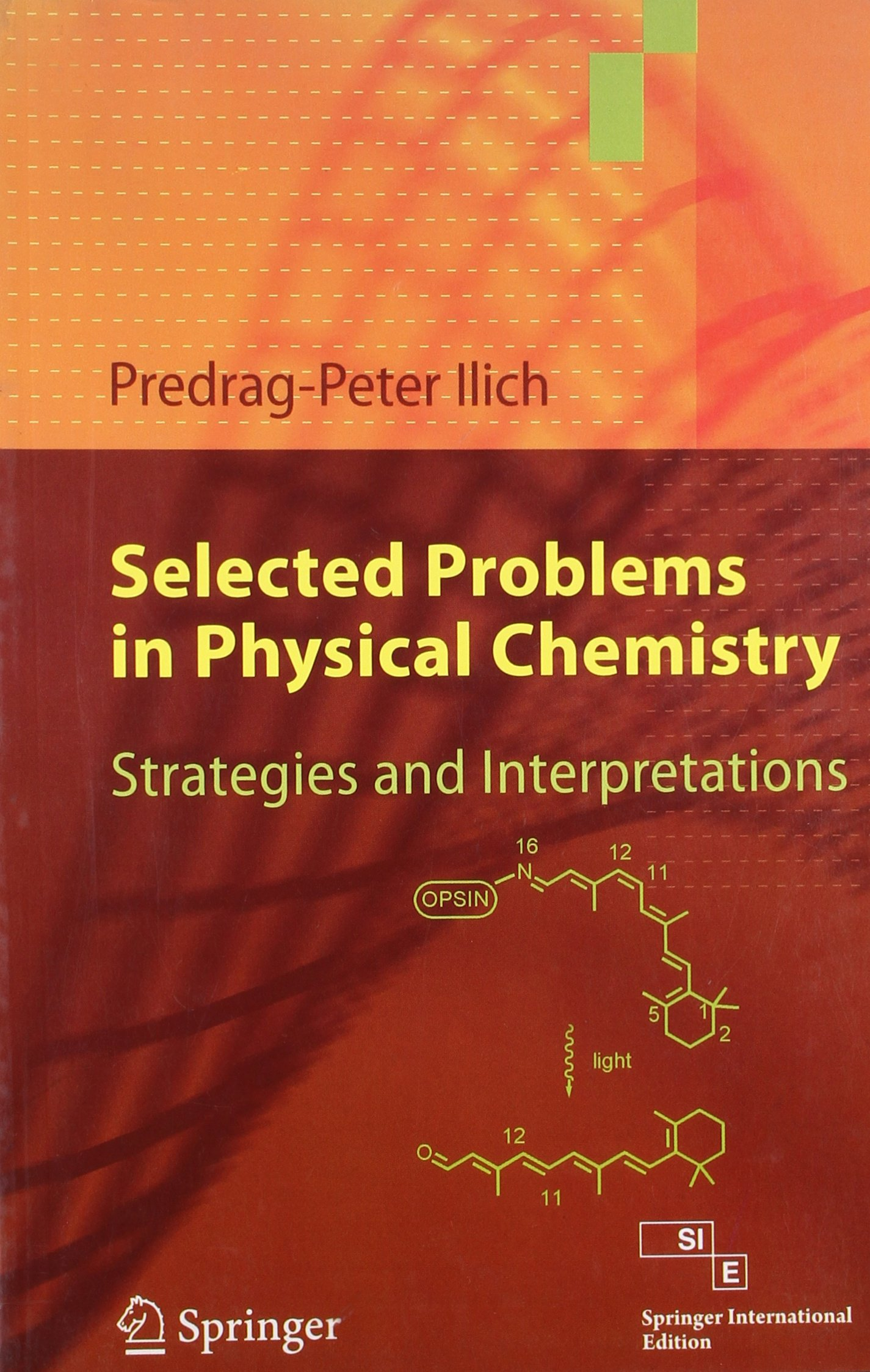 Selected Problems In Physical Chemistry: Strategies And Interpretations (Sie)