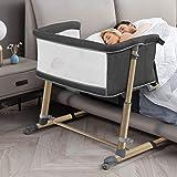 RONBEI Baby Bassinet Bedside Sleeper (BC102T1)
