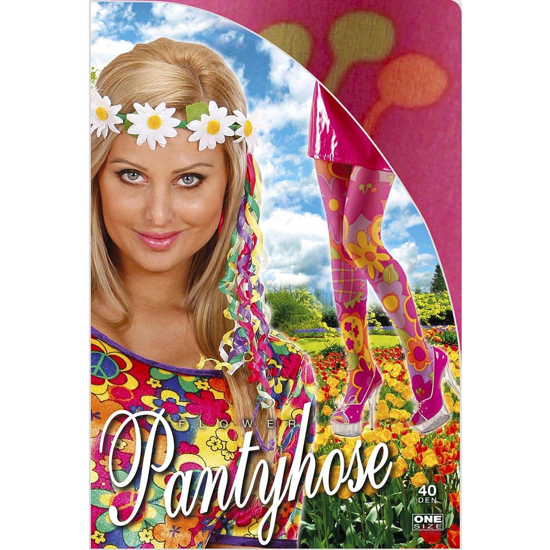WIDMANN PK 12 XL-Flower Pantyhose 40 DEN