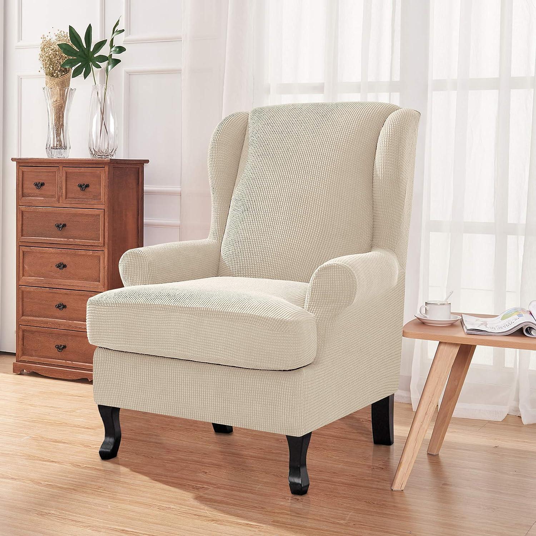 Amazon.com: Chun Yi - Funda para sillón de 2 piezas, tejido ...