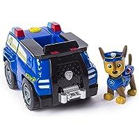 PAW PATROL Patrulla Canina - Chase 's Transforming Police Cruiser con megáfono abatible, para Edades de 3 y más