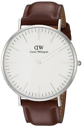 daniel wellington men s quartz watch classic st andrews 0207dw daniel wellington men s quartz watch classic st andrews 0207dw leather strap