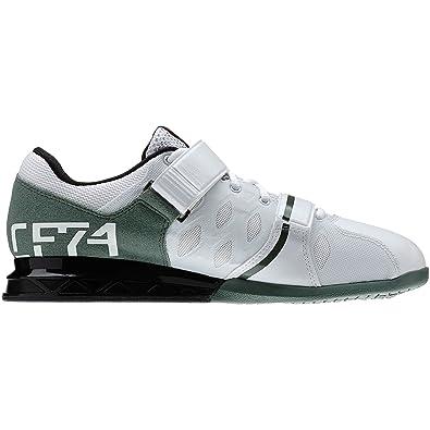 Reebok Crossfit Elevador Más 2,0 Levantamiento De Pesas De Los Hombres Del Zapato Entrenador Blanco