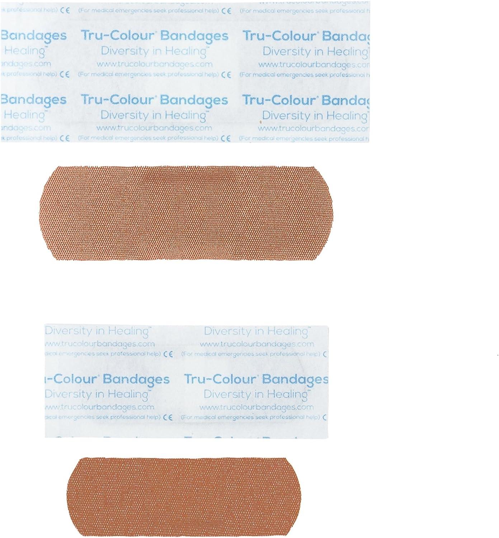 Tru-Colour Bandages Skin Tone Flexible Fabric Bandages Combo Pack