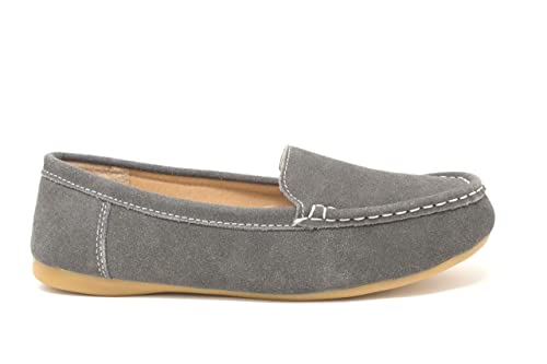 Fenside Country Clothing - Mocasines de Ante para Mujer