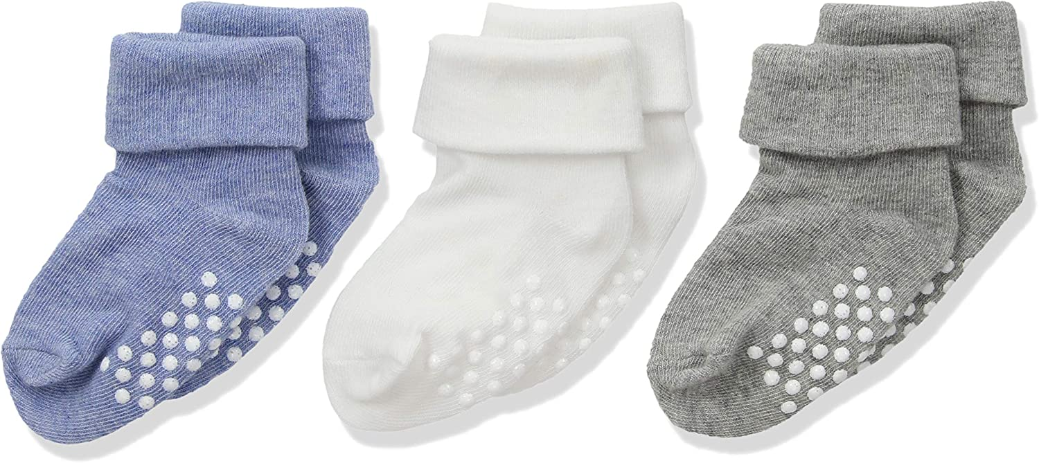 Jefferies Socks Three Pairs of Organic Cotton Socks