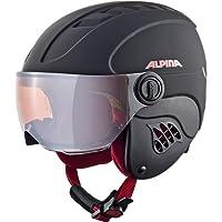 Alpina Carat Le Visor HM Casque de Ski pour Enfant avec Visière