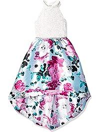 55f8b01402ea Speechless Girls' Big 7-16 Party Dress with Dramatic High-Low Hemline